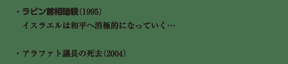 image03続き3行/ラビン首相暗殺(1995)~