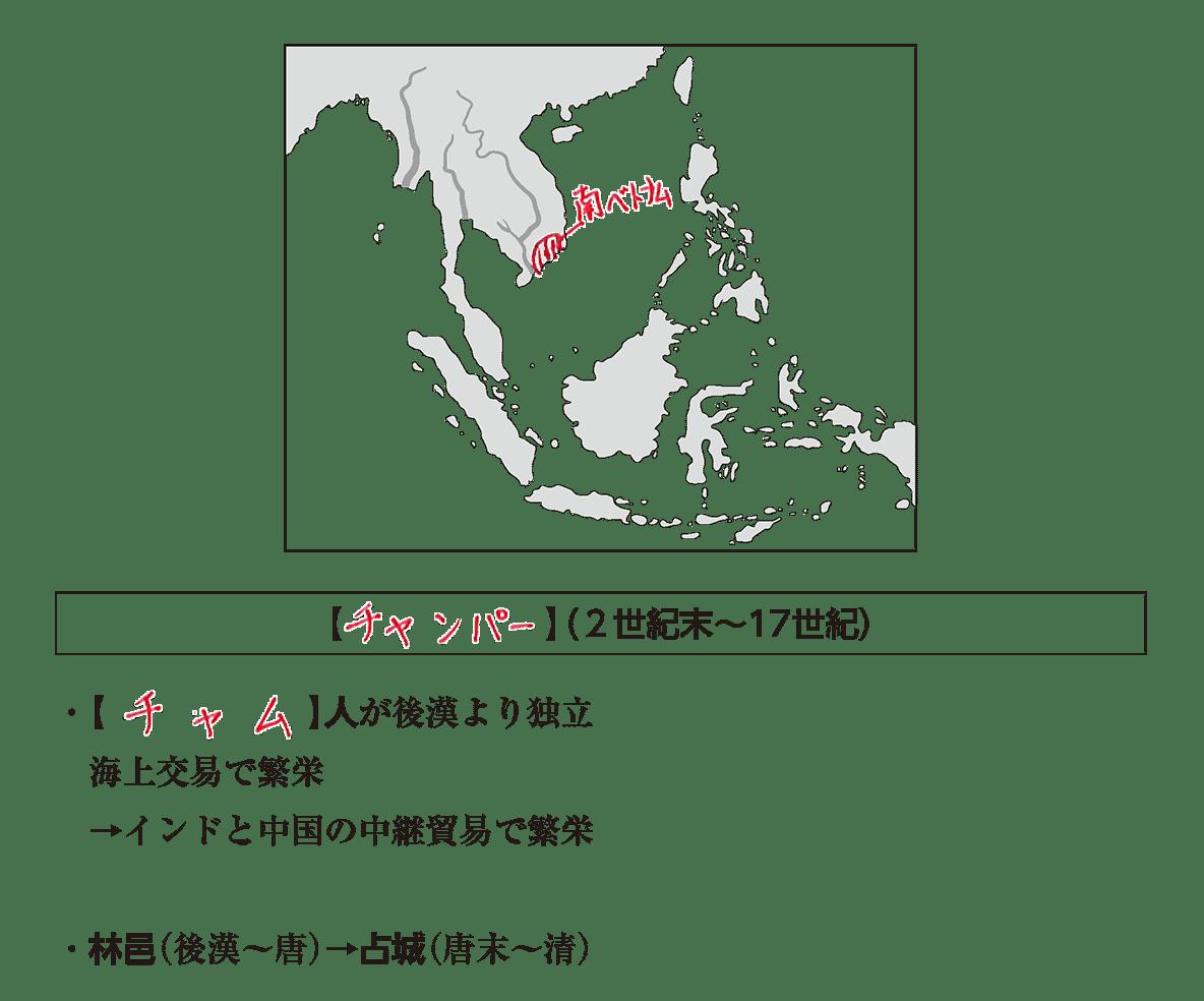 高校世界史 東南アジア前近代史2 ポイント2 答え全部