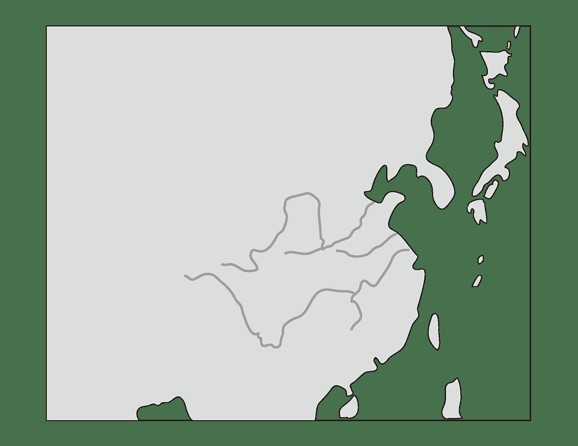 高校世界史 中国の古典文明0 左ページの地図のみ
