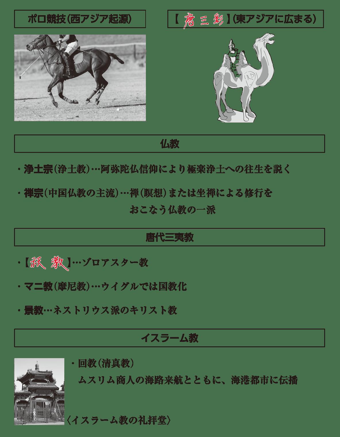 高校世界史 東アジア文明圏の形成5 ポ1 答え全部