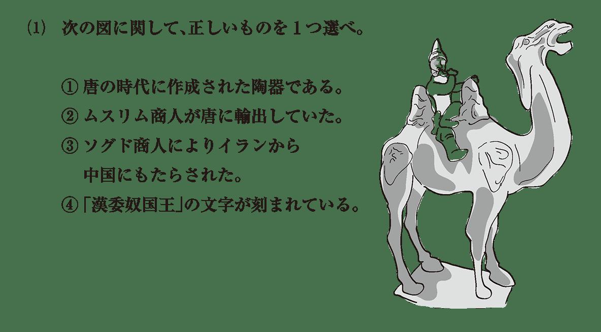 高校世界史 東アジア文明圏の形成7 問題3(1)
