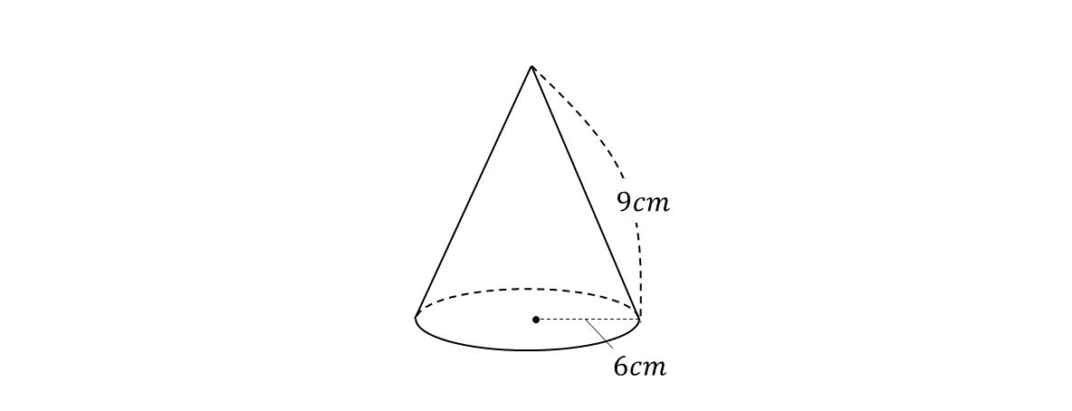 求め 表面積 の 方 の 円錐