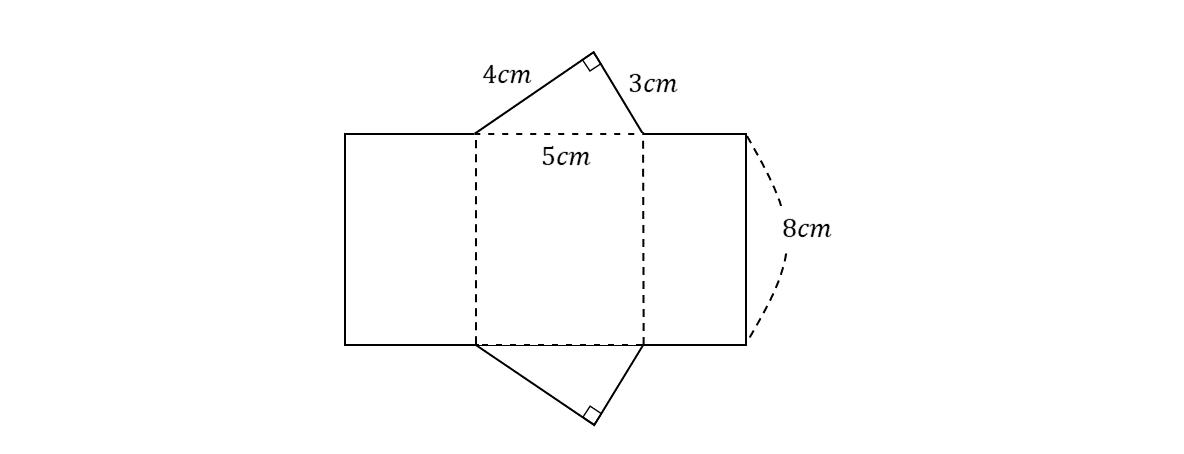 テスト記事 中1 数学5 問題1の見方の図