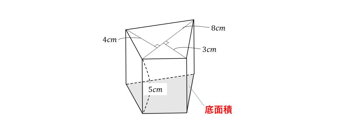 テスト記事 中1 数学6 問題2の見方の図