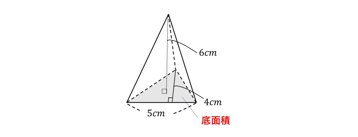 テスト記事 中1 数学7 問題1の見方の図