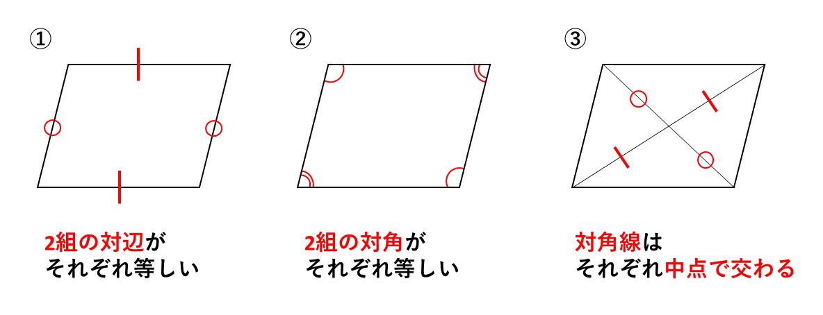 テスト記事 中2 数学2 平行四辺形の性質