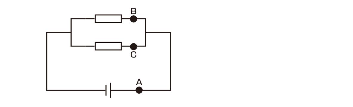 テスト記事 中2 理科1 並列回路の電流