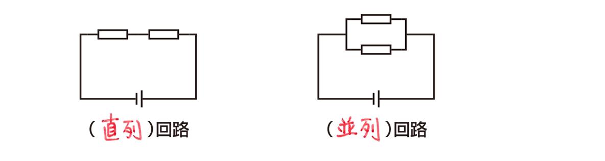 テスト記事 中2 理科1 直列回路と並列回路