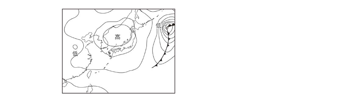 テスト記事 中2 理科8 春の天気図