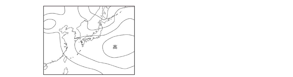 テスト記事 中2 理科8 夏の天気図