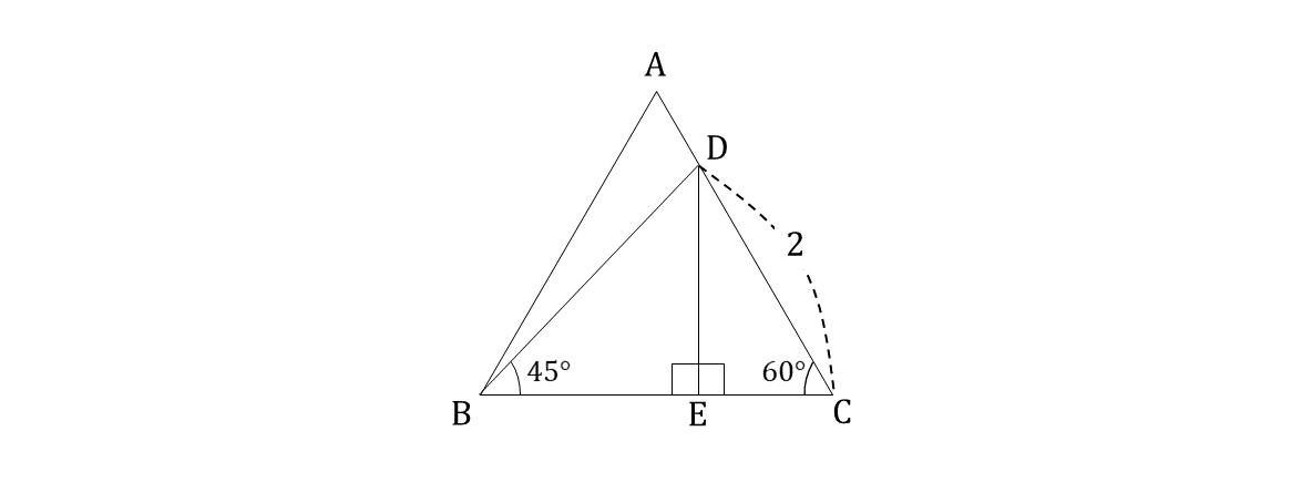 テスト記事 中3 数学4 問題2 解説図